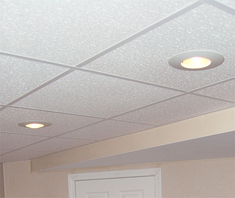 Finished Basement Ceiling New Berlin Milwaukee