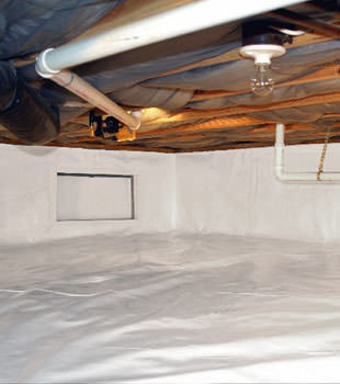 crawl space repair system in Waukegan