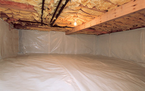CleanSpace® vapor barrier after in Rockford